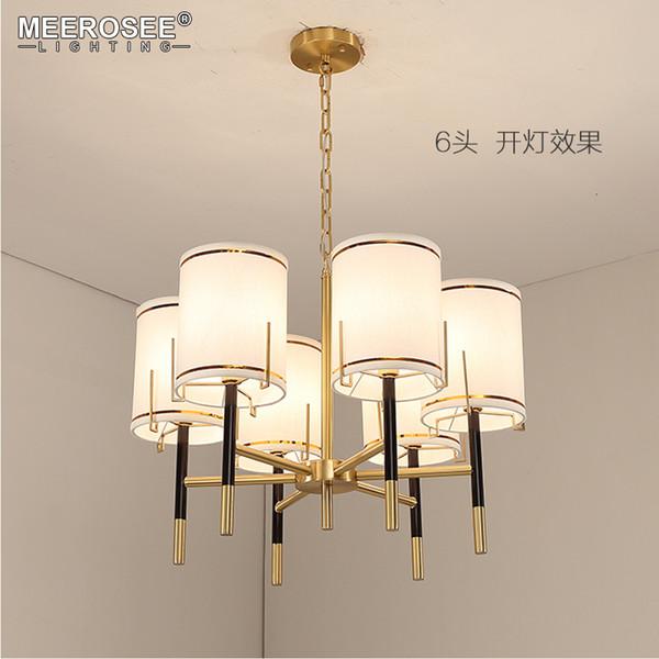 Modern Chandelier Light Fixture Wrought Iron Hanging Lamp for Foyer Dining room Restaurant Lustres Decor Lighting