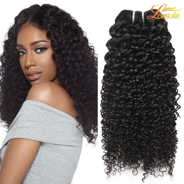 Wholesale Cheap Brazilian Hair Weave Bundles Deep Curly Wave Hair Extension Virgin Human Hair Natural Color Can Be Dyed Machine Double Weft