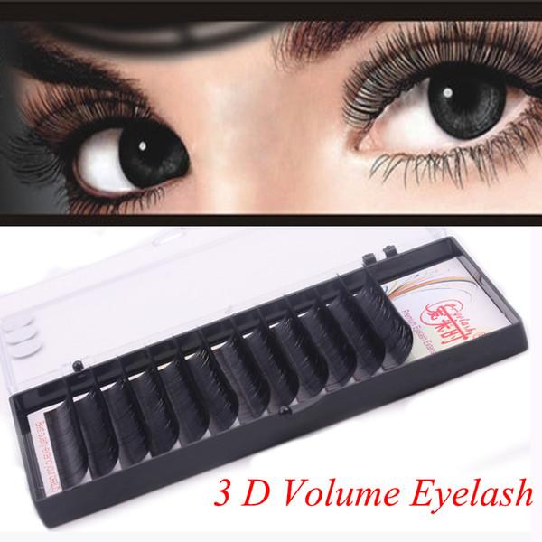 4 Trays Natural Long Eyelashes Extension Individual Eye Lashes Handmade False Lashes Fake Eyelashes Extension for women