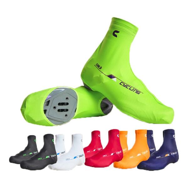 Cheli 2017 Bisiklet Ayakkabı Kapak Bisiklet Ayakkabı Kapağı / Pro Yol yarış Bisiklet ayakkabı Kapakları Için Adam S-3XL Adam / Kadın 6 Renkler Için Satış