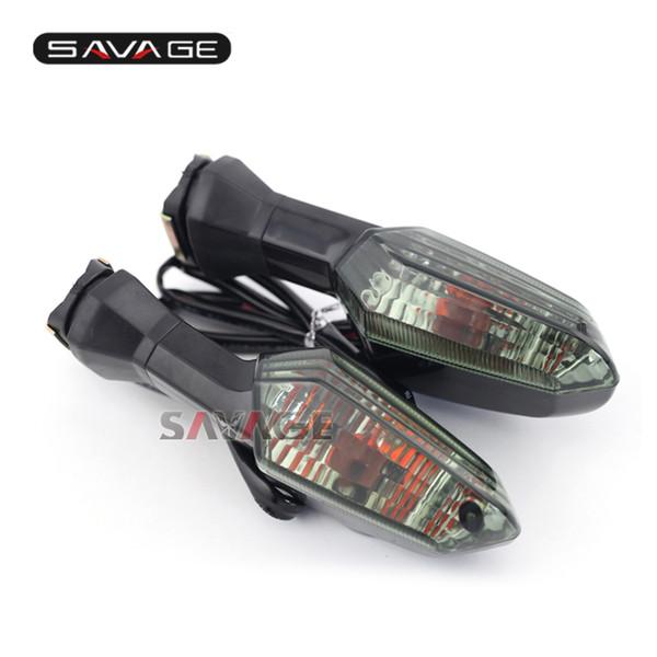 For KAWASAKI Z125 Z250 Z300 Z750R Z800 Z1000 ZRX 1200R Motorcycle Front/Rear Turn Signal Indicator Light Blinker Lamp