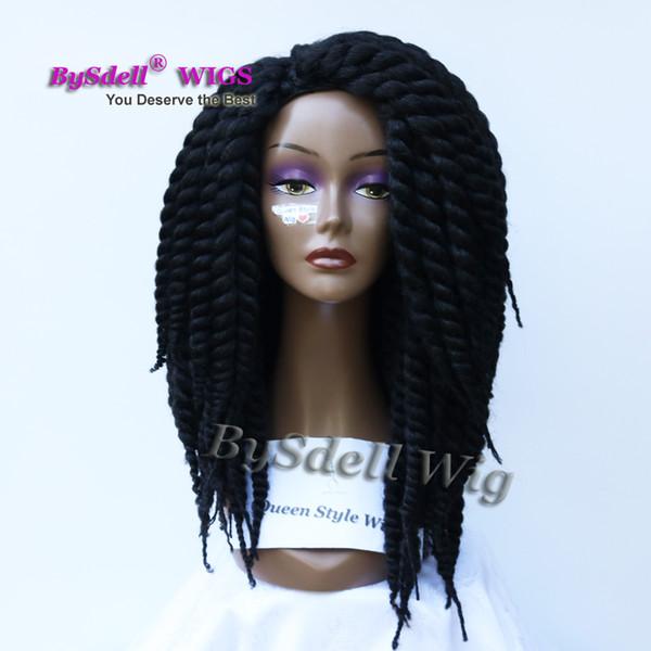 Grosshandel Fablous Fat Crochet Braid Haar Perucke Synthetische Afro Kinky Twist Large Braiding Haarperucken Fur Schwarze Frau Von Tthouse2 166 64