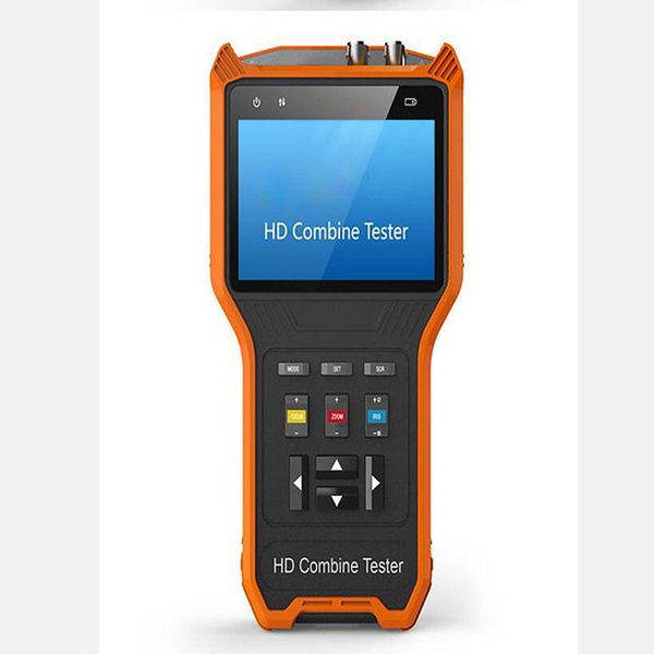 New 4 inch 4 in 1 HD combine CCTV tester monitor AHD TVI CVI analog camera tester PTZ control audio testing 12V output