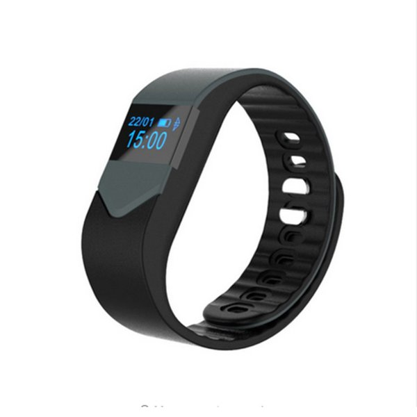M3S Smart Wristband Grey Black