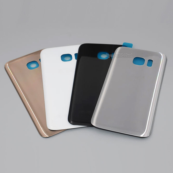 Smartphone Glass Battery Door Housing Back Cover Case with Logo Sticker battery cover for smartphone android mobile free shipping DHL
