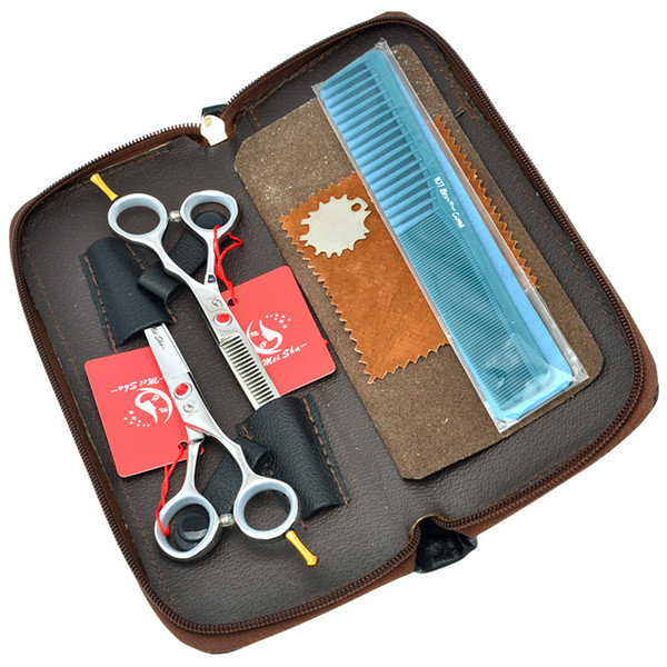 "5.5"" Meisha High Quality Barber Scissors Hair Cutting & Thinning Scissors JP440C Hot Hairdressing Scissors Kits Tesouras Styling Tool,HA0182"