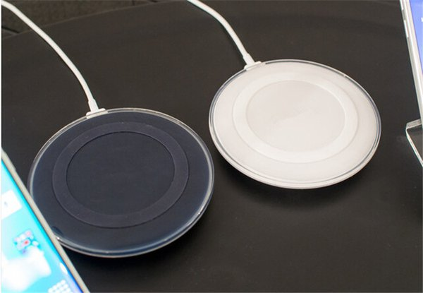 Universal Circle Wireless Charger Ultrathin USB Cable Chargers Portable Cell Phone Chargers for Using at home office