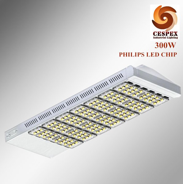 50000h long life IP65 aluminum alloy module AC110V 220V 277V 50/60Hz 300w led street light replace 1000w HPS metal halide