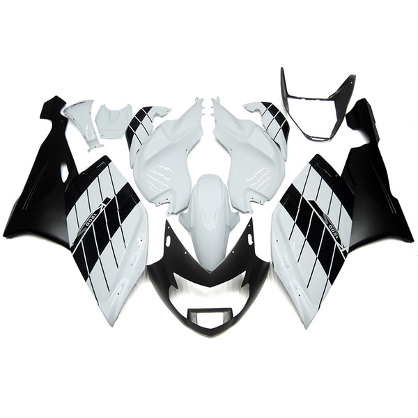 3 free gifts Complete Fairings For BMW k1200s 2005-2008 ABS Plastic Motorcycle Fairing White Black vv11