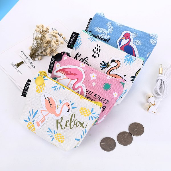 Purse Boys And Girls Printing Coin Storage Bag Zipper Handbag For Monen Easy To Carry Many Styles 2 5yq C R
