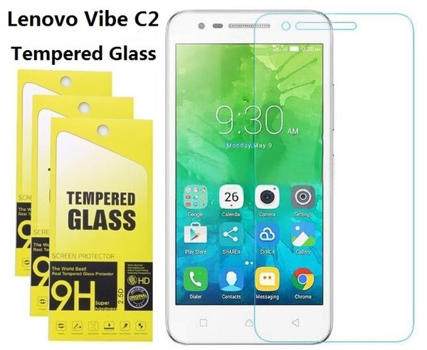 Tempered Glass For Iphone 8 7 6S Plus Screen Protector For Lenovo Vibe C C2 A2020 Lenovo ZUK Z1 Z2 Pro High Quality With Retail Package
