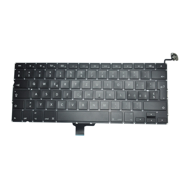 A1278 Swiss Keyboard For Macbook Pro 13'' A1278 Swiss Switzerland Keyboard Replacement 2009-2012