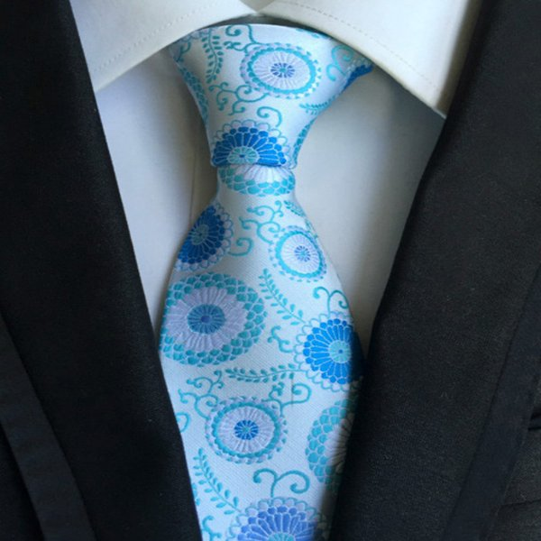 185 Style Handmade Men Ties Silk Paisley Tie Wedding Prom Party Neck Ties Business Formal Ties Fashion Stripes Plaids Dots Neckties A117