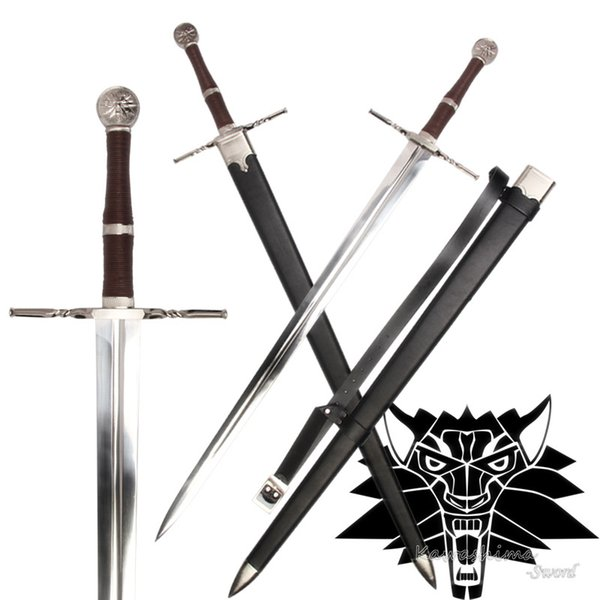 New Arrival Medieval Sword Stainless Steel For Video Game The witcher3:Wild Hunt Replica Ciri's Blade Full Tang Supply