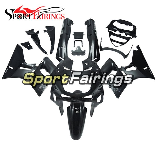 Injection Fairings For Kawasaki ZZR600 ZZR-400 1993 - 2007 ABS Plastic Complete Motorcycle Fairing Kits Cowling Balck Grey