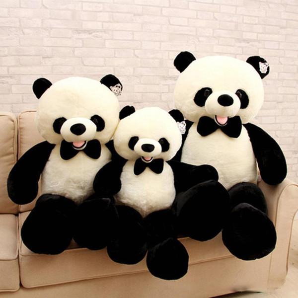 2018 big fat panda plush toys giant soft stuffed animals cute panda
