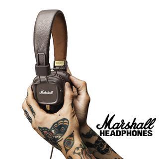 MOQ10PC Marshall Major II Headset With Mic Great Bass DJ Hi-Fi Headphones Iphone Earphones 3.5mm Earphones Professional DJ Headphones
