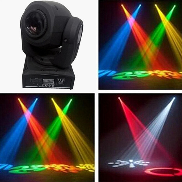 top popular LED 8colors 10W 30W spots Light DMX Stage Spot Moving 8 11 Channels Mini LED Moving-Head lighting for DJ Effect lights Dance Disco 2021