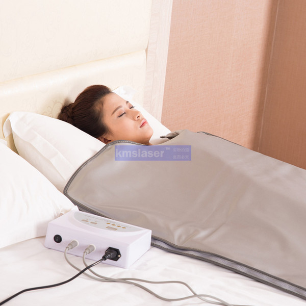 2 cobertor térmico do emagrecimento do envoltório do corpo da perda do peso da sauna do infravermelho distante das zonas