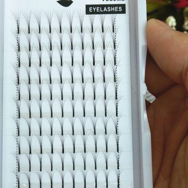 2017 Wholesale Volume 5D W Eyelash Extensions 0.10 Thickness Individual Lashes Fans Lash South Korean Silk Lashes Classic Lash Free Shipping