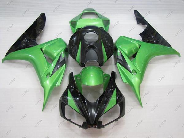 Bodywork Fireblade 2006 Body Kits CBR 1000 RR 2007 Green Black Fairing Kits CBR1000RR 07 2006 - 2007