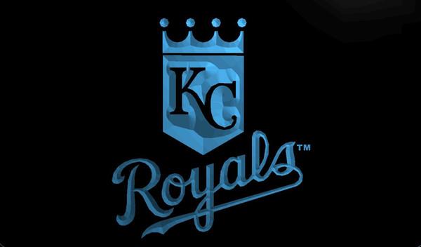 LS291-Kansas-City-Royals-Club-Bar-Neon-Light-Signs Decor Free Shipping Dropshipping Wholesale 6 colors to choose