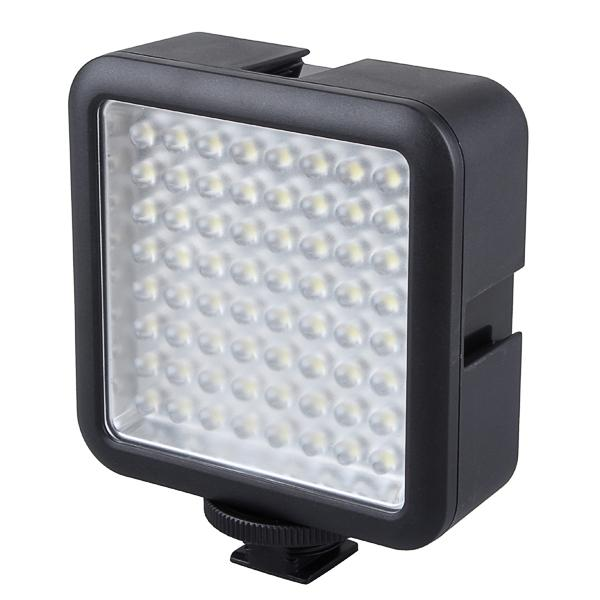 Al por mayor-Godox 64 LED LED-64 Video Lámpara de luz para cámara digital DSRL Videocámara DV