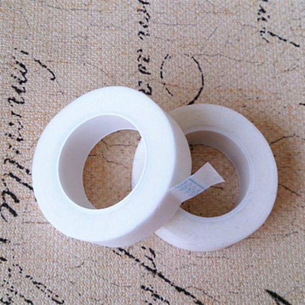 Venta al por mayor encantador pestañas profesional pestañas pestañas extensión microporo cinta de papel debajo de la pestaña de la cinta envío gratis