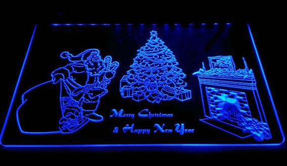 LD007-b-Merry-Christmas-Neon-Light-Sign Decor Free Shipping Dropshipping Wholesale 6 colors to choose