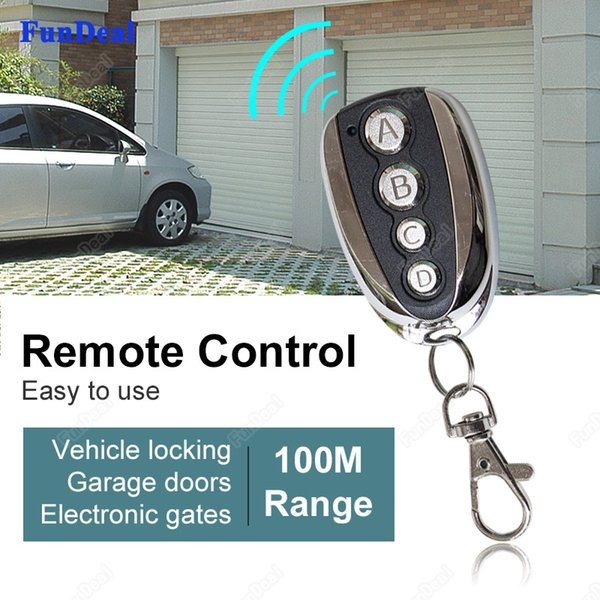 Wholesale- 433.92mhz Copy CAME TOP432NA TOP434NA Wireless Remote Control Duplicator For Universal Electric Garage Door Gate 433mhz Key Fobs