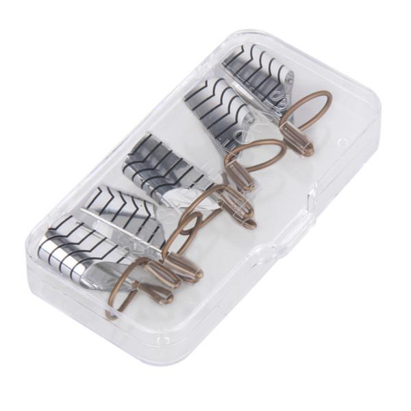 5pcs Reusable Nail Forms UV Gel Nail Polish nails extension guide Tool Acrylic French Tips Nail Art