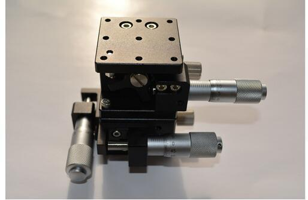 Plataforma de desplazamiento manual de la plataforma de desplazamiento manual de ejes XYZ Mesa deslizante 40 * 40 mm XYZ40L