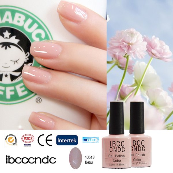 Оптовая продажа-79 цветов 2016 новые IBCCCNDC лак для ногтей Soak Off УФ / светодиодные лампы гель лак для ногтей для салона Nail Art лак 1 шт. / лот 40513