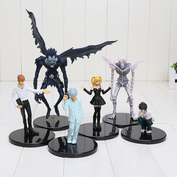 2019 Death Note Deathnote Light Yagami Ryuk Rem PVC Action Figure Anime  Collection Model Toy Dolls From Kate And Kevin, $22 92 | DHgate Com