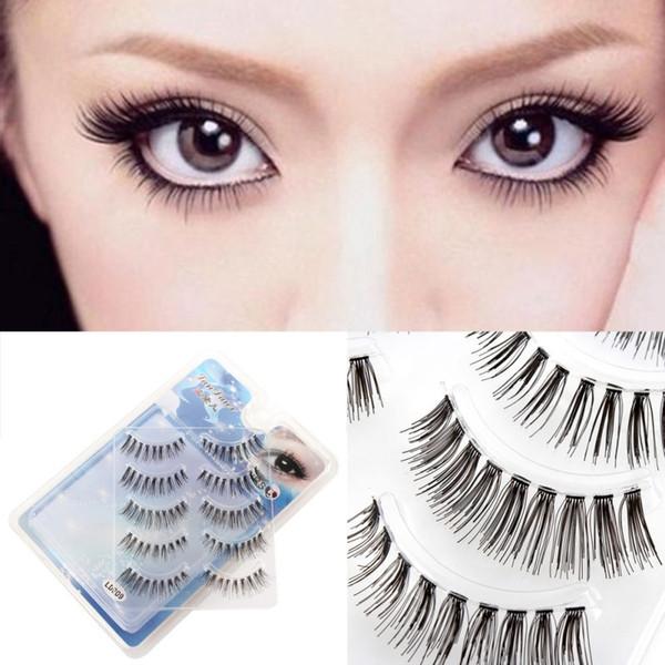Wholesale- 5Pairs  False Eyelashes Short/Long/Thick/Half/Corner/Lower Eye Lashes Various P18