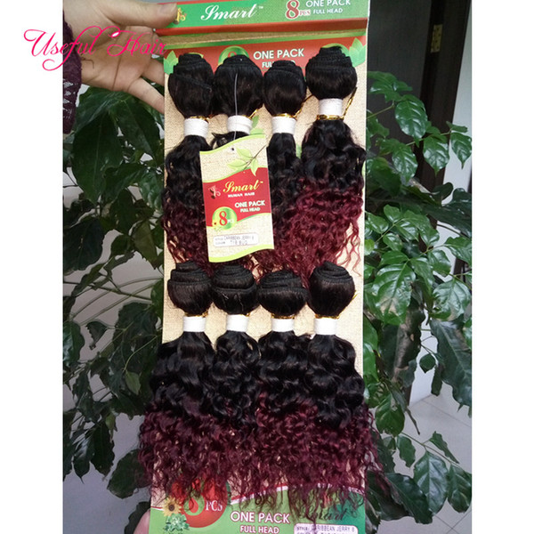 FASHION 8pcs loose wave Brazilian hair extension,mongolian curly human braiding hair crochet braids blended weave sew in hair extensions