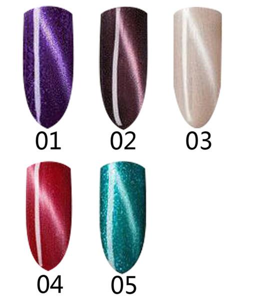 Wholesale- 40 colors Deal pirce limted quantity hurry up goog qulity Nail Art Factory Gel Lacquers Chameleon Cat Eye Gel Nail Polish