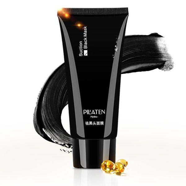 1000pcs HOT PILATEN Blackhead Remover Deep Cleansing Purifying Peel Acne Treatment Mud Black Mud Face Mask