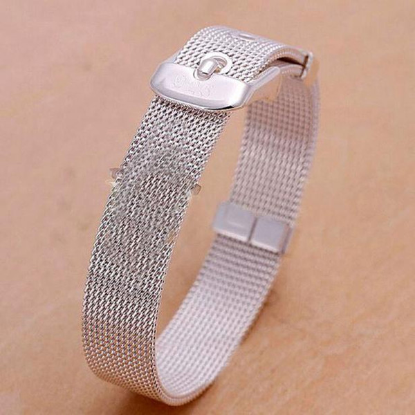 14/16/18/20/22 / 24mm Pulseras Milanese reloj de pulsera de acero inoxidable mujeres hombres reloj correa 2.5mm accesorios