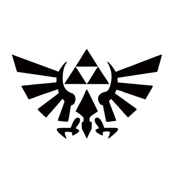 Zelda Anime Sticker Car Window Car Styling Truck Bumper Art Etc Princess Link Girly Jdm Vinyl Decal JDM