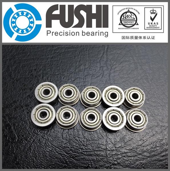 10pcs Shielded Model Flange Bearing 5 x 13 x 4mm  F695zz