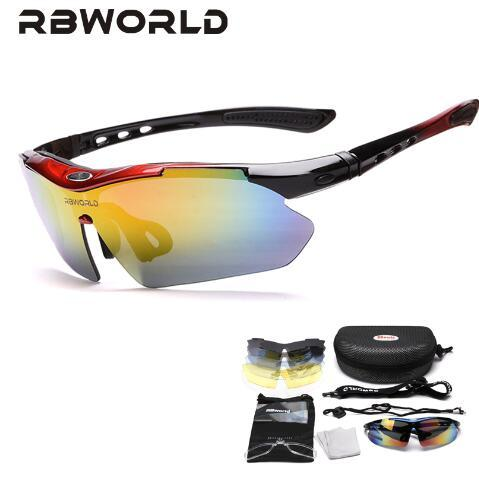 Fashion Sunglasses Cycle Eyewear Glasses Outdoor Bicycle Cycling Sunglasses Mountain Bike Ciclismo oculos de Sol For Men Women 5 Lenses