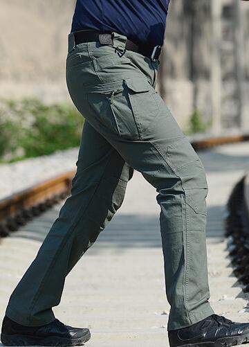 yoninah / Wholesale freie Verschiffen IX7 taktische Hosen der Männer Fracht-beiläufige Hosen Kampf-SWAT Armee-aktive Arbeit Baumwollmannes Hosenmänner