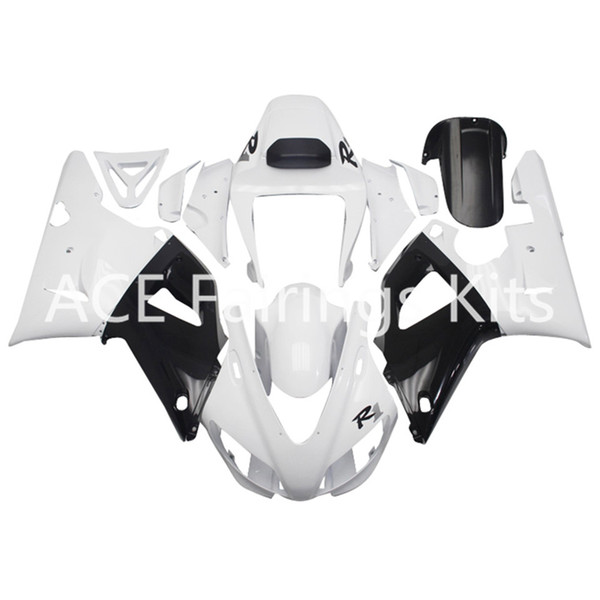 3 free gifts Complete Fairings For Yamaha YZF 1000-YZF-R1-98-99 YZF-R1-1998-1999 Motorcycle Full Fairing Kit White style vv20