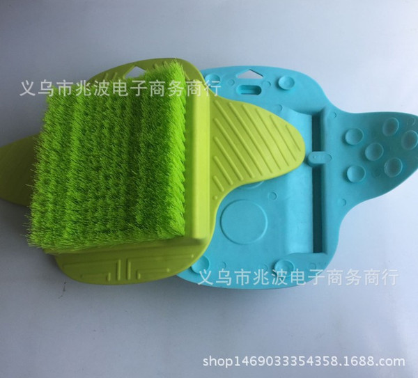 Foot Brush Feet Clean Rub Dead Skin Massage Can Hang Multi Function With Sucker Brushes Spa Hot Sell 13zb J R