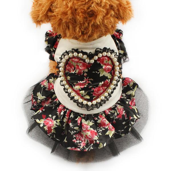 armipet Summer Floral Pattern Dog Dresses Dogs Princess Dress 6071006 Pet Clothes Fashion Skirt XS, S, M, L