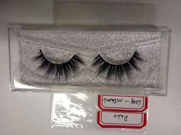 10Pair Reusable Natural Long 3D MINK Eyelashes Lily Lash Same Style False Eyelashes Artificial Makeup Eye Lashes