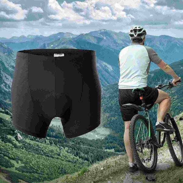 Bike Bicycle Cycling Shorts Gel 3D Padded Underwear Pants Men Comfortable Black