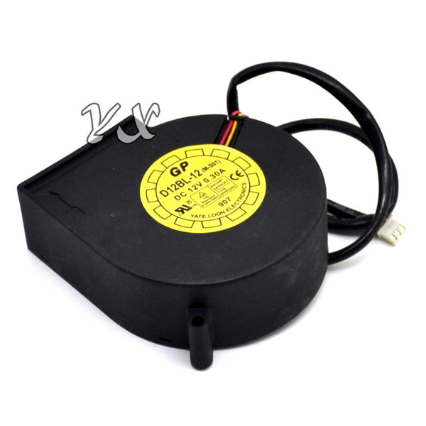 top popular free shipping high quality the new Turbine blower 9033 DC12V 0.30A D12BL-12 (M-S01) cooling fan 2021