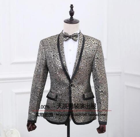 Scarlet flowers blazer men formal dress latest coat pant designs suit men costume homme marriage wedding suits for men's fashion